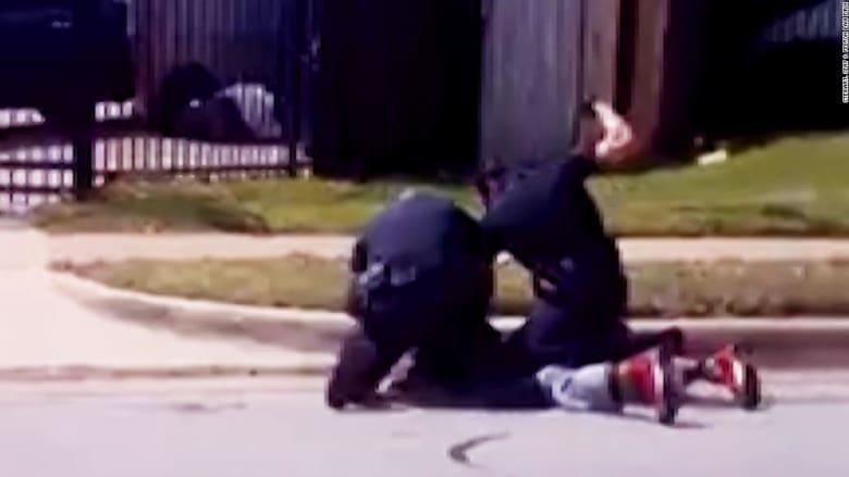 شاهد.. كاميرا تلتقط اعتقالاً عنيفاً في تكساس