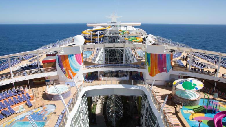 تعرف إلى أكبر سفينة في البحر الأبيض المتوسط