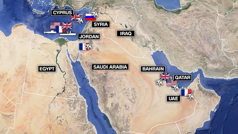 كل ما تحتاج معرفته عن الضربات المحتملة في سوريا