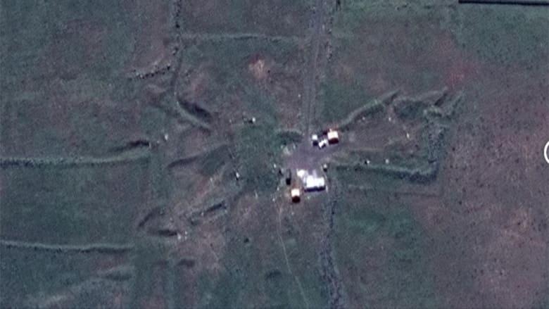 """بعد تصريحات """"اعتراضها"""".. بالصور.. أهداف سورية قبل وبعد الضربة"""