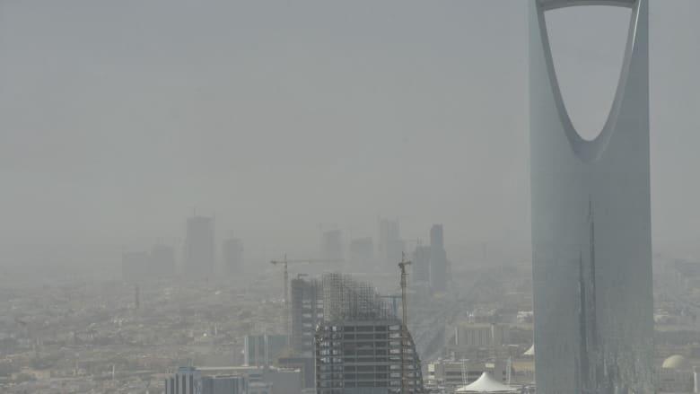 عاصفة غبار كثيف على الرياض.. وناشطون: اللهم إنا نسألك خيرها