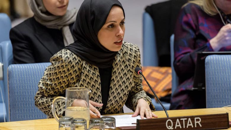 """قطر تطالب برفع """"الحصار"""" في مجلس الأمن: استمرار الأزمة يهدد المنطقة"""