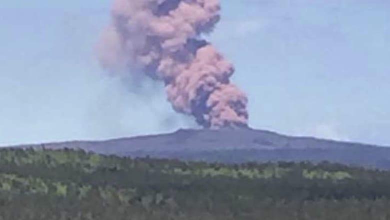 بالفيديو.. عمليات اخلاء في هاواي بعد ثوران بركان