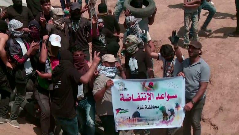 """مقتل فلسطيني وإصابة أكثر من 450 في مظاهرات """"العودة الكبرى"""" بغزة"""