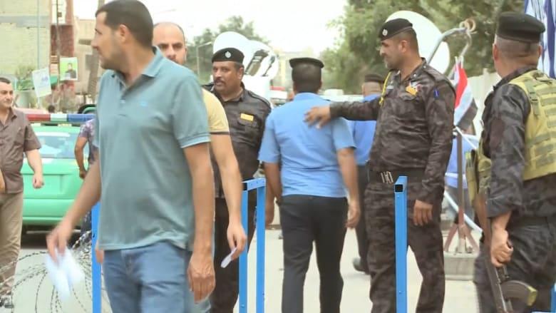 شاهد.. تشديد أمني مع بدء التصويت بالانتخابات العراقية
