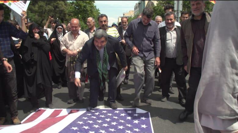 شاهد.. ما الذي يحصل في إيران بعد انسحاب أمريكا من الاتفاق النووي؟