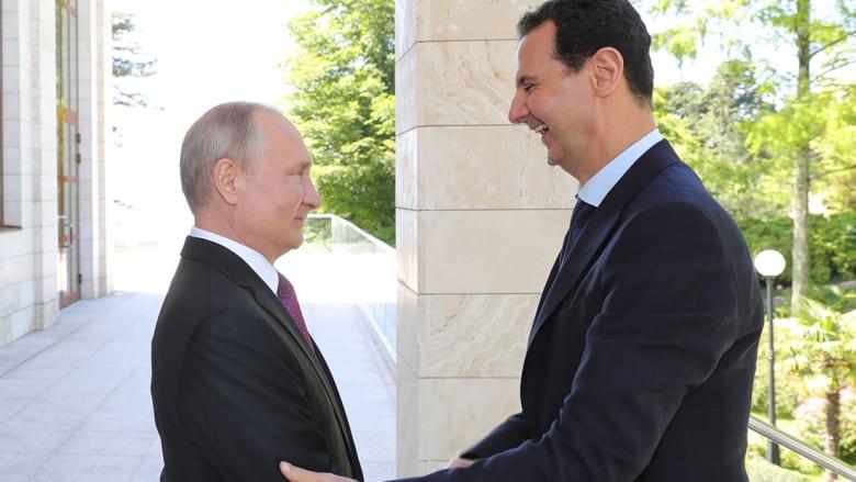بوتين يستقبل الأسد: الظروف أصبحت مناسبة لاستئناف العملية السياسية