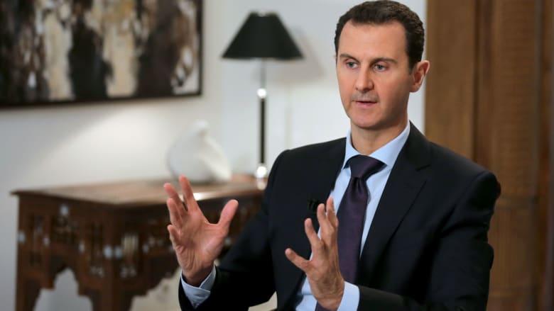 الأسد: المفاوضات خيارنا الأول وإسرائيل تهددنا لشعورها بالخوف