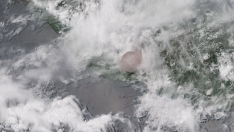 شاهد.. هذا ما يبدو عليه ثوران بركان من الفضاء!