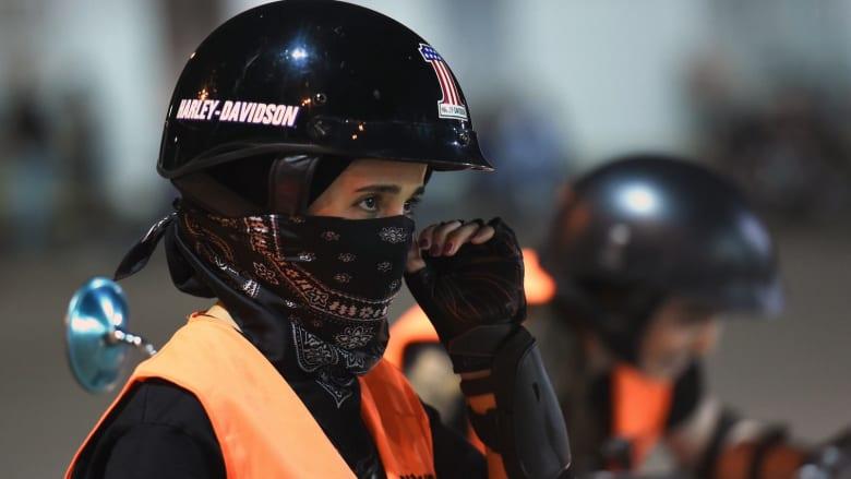 شاهد.. نساء يقدن دراجات هارلي ديفيدسون في السعودية