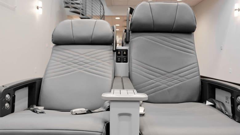 اكتشف ميزات مقاعد الطائرة لأطول رحلة في العالم