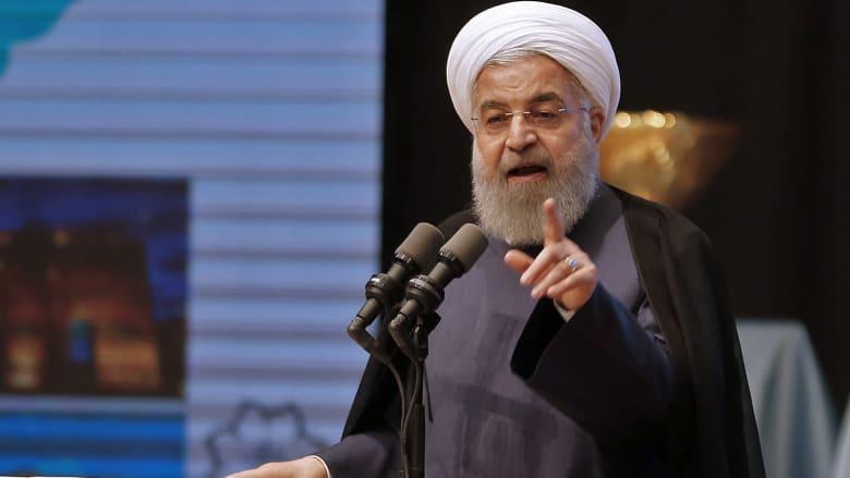 """روحاني لأمير قطر: الحل في اليمن ليس عسكريا وندعم صمودكم بوجه """"الحصار"""""""