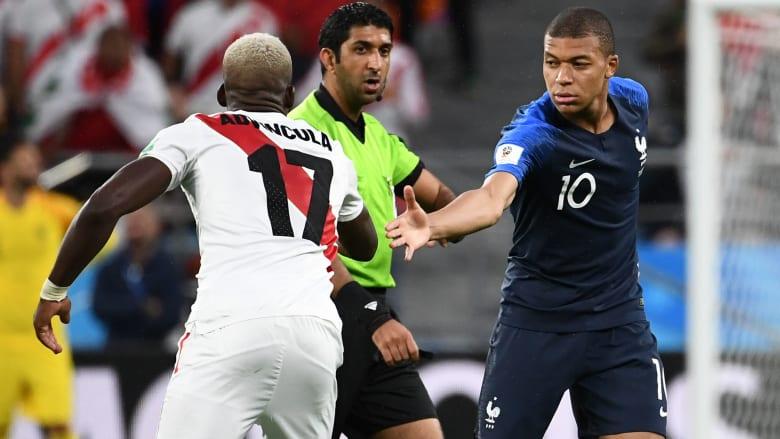 بإدارة إماراتية للمباراة.. فرنسا تهزم بيرو وتبلغ دور الـ16