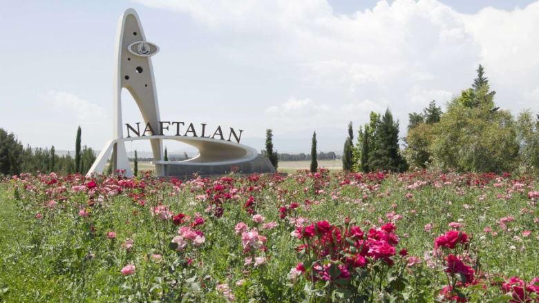 في هذا المنتجع الأذربيجاني.. يمكنك الاستمتاع بحمام دافئ من النفط
