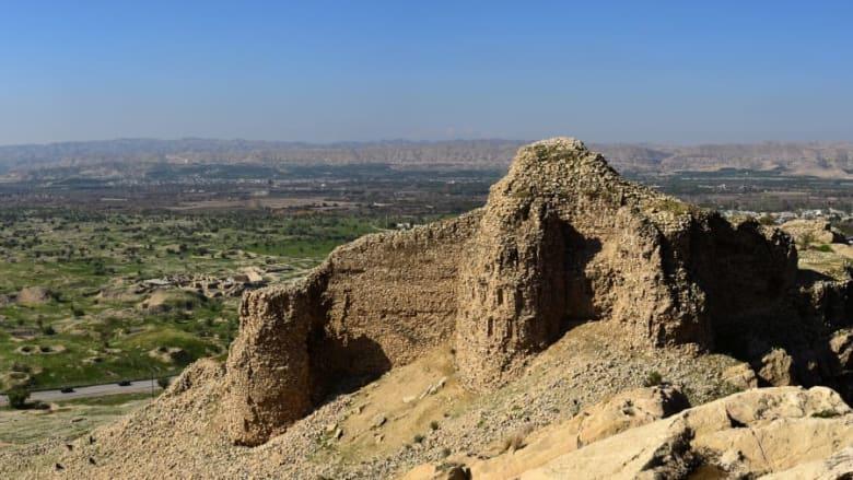 المنظر الساساني الأثري في منطقة فارس في جمهورية إيران الإسلامية