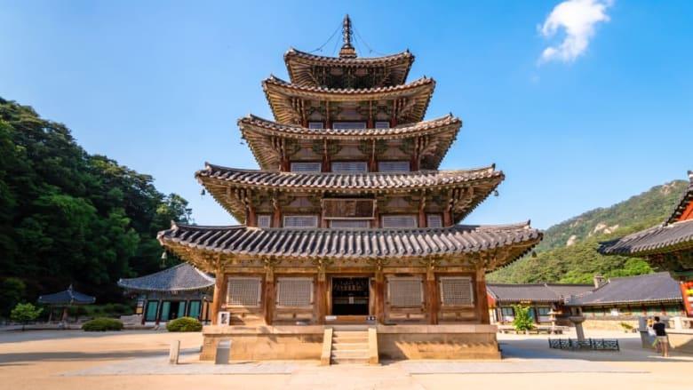 سانسا، أديرة بوذية جبلية في كوريا الجنوبية