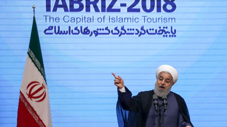 روحاني: إيران لم تكن البادئة بإثارة التوتر في المنطقة
