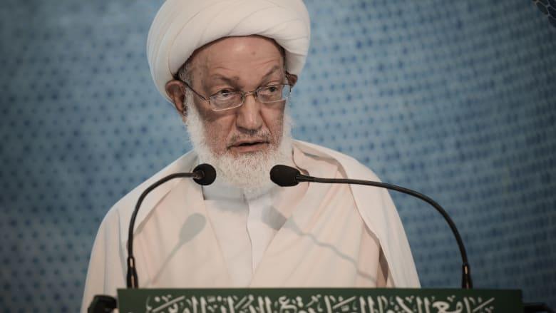 ملك البحرين يأمر بتسهيل سفر رجل الدين الشيعي المعارض عيسى قاسم للعلاج بالخارج