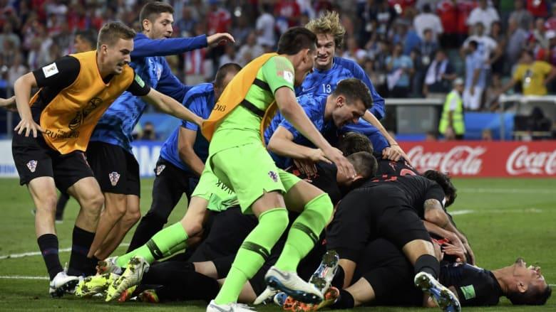 مساكم مونديال.. كيف ستتأثر كرواتيا بلقاء روسيا أمام إنجلترا؟
