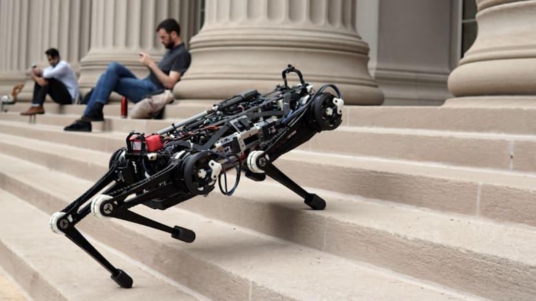 """شاهد.. روبوت جديد """"يشعر"""" عوضاً عن استخدام الكاميرات"""