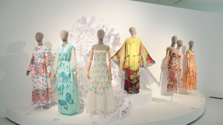 """معرض """"بيئة الموضة"""" في مركز حيدر علييف. باكو، أذربيجان."""