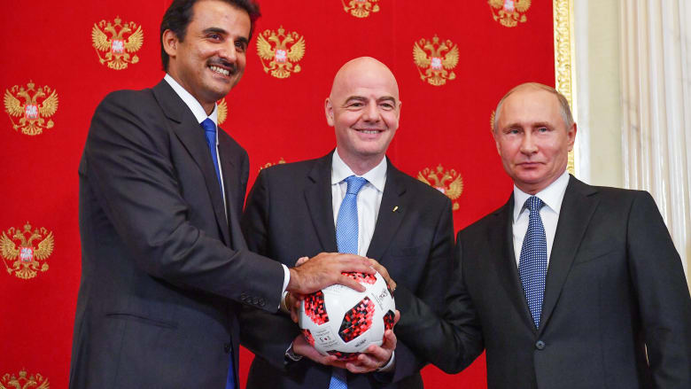 """أمير قطر: مونديال 2022 سيكون """"لكل العرب"""" ونعوّل على الشباب العربي"""