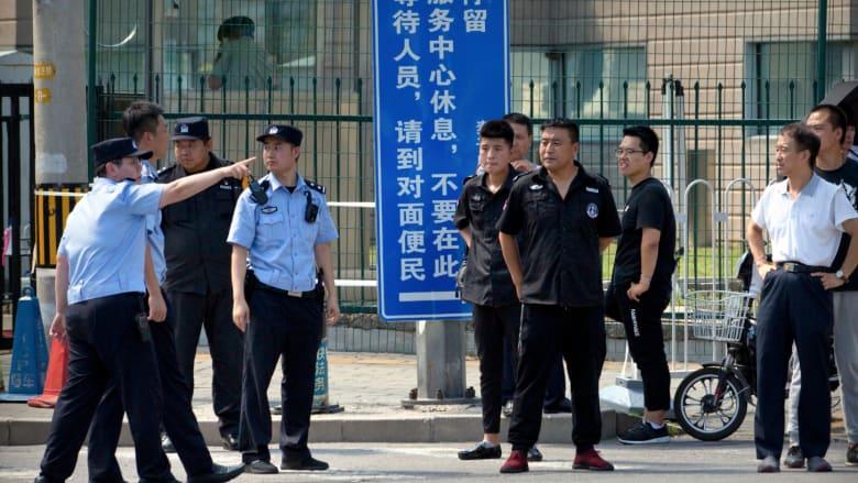 ما هو سبب الانفجار خارج السفارة الأمريكية في بكين؟
