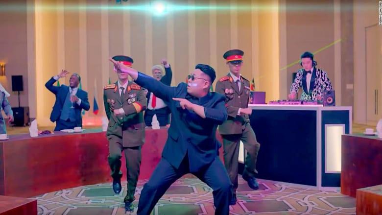 قمة ترامب وكيم جونغ أون في أغنية جديدة تجتاج يوتيوب