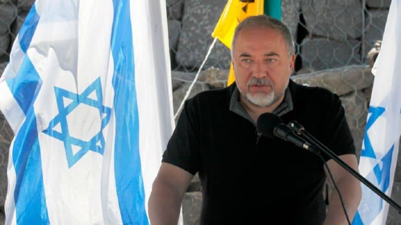 """ليبرمان: شمال إسرائيل والجولان """"أهدأ"""" مع عودة قوات النظام السوري"""