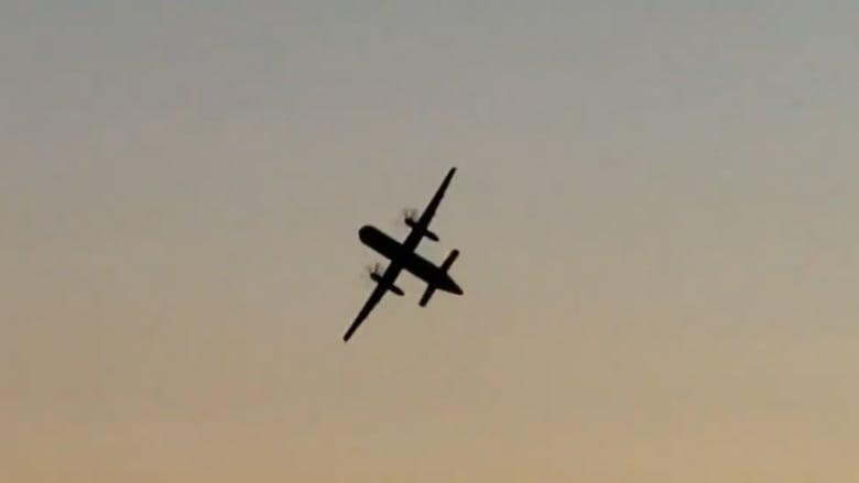 شاهد...طائرة أقلعت من مطار سياتل دون الحصول على إذن بالإقلاع