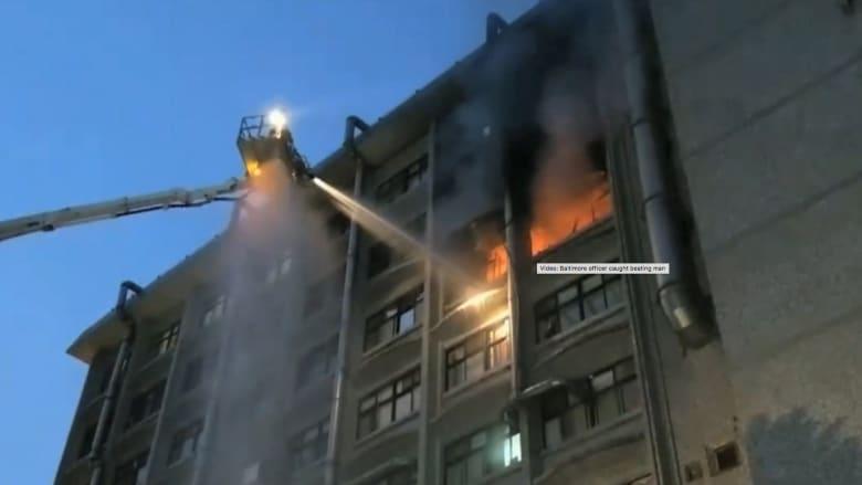 حريق في مستشفى يقتل 9 أشخاص في تايوان