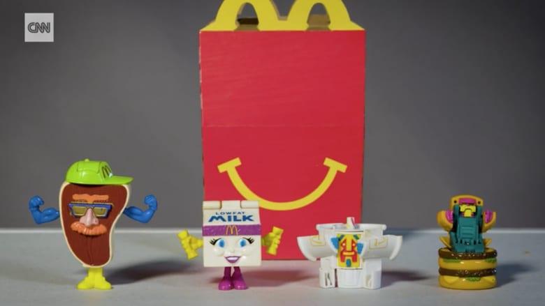"""شاهد كيف تغيرت وجبة """"هابي ميل"""" من ماكدونالدز عبر السنين"""