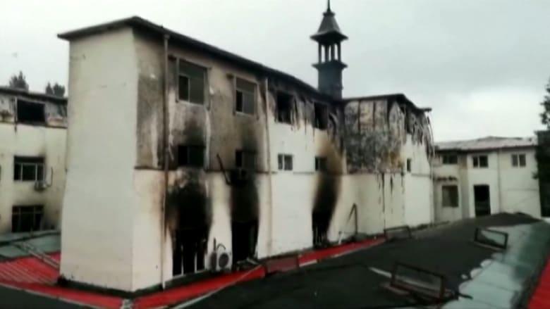 18 قتيلا جراء حريق بأحد الفنادق في الصين