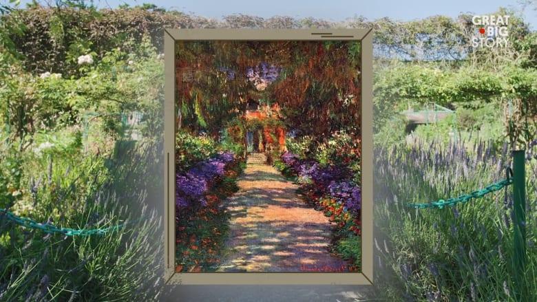 هذه الحدائق كانت وراء اللوحات المذهلة للفنان الفرنسي مونيه
