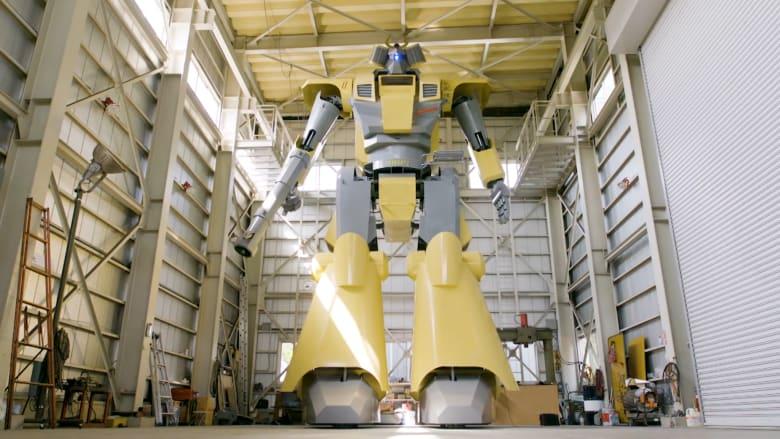 بنى هذا المهندس الياباني أكبر روبوت في العالم