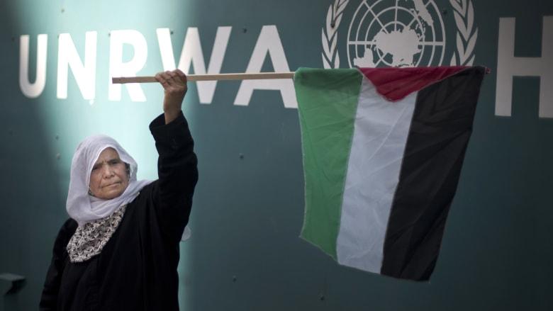 """مصدر لـCNN: إدارة ترامب قررت إنهاء تمويل منظمة """"اونروا"""" المعنية بشؤون اللاجئين الفلسطينيين"""