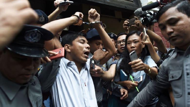 هجوم أمريكي على حكومة ميانمار بسبب سجن صحفيي رويترز: وصمة عار مروعة