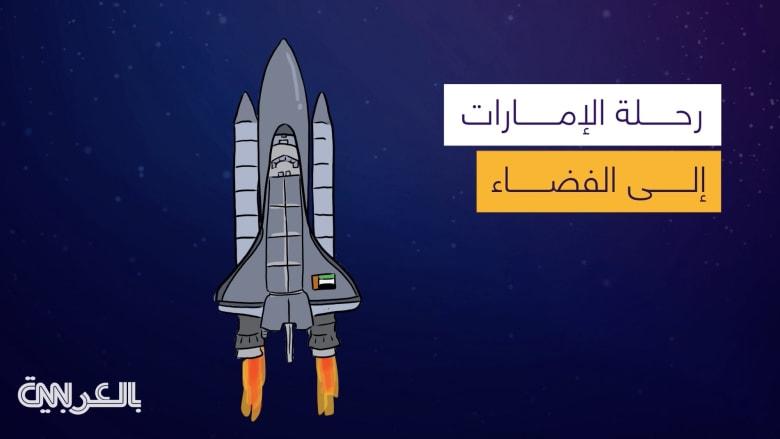 رحلة الإمارات إلى الفضاء.. إعلان اسم أول رائدي فضاء عرب