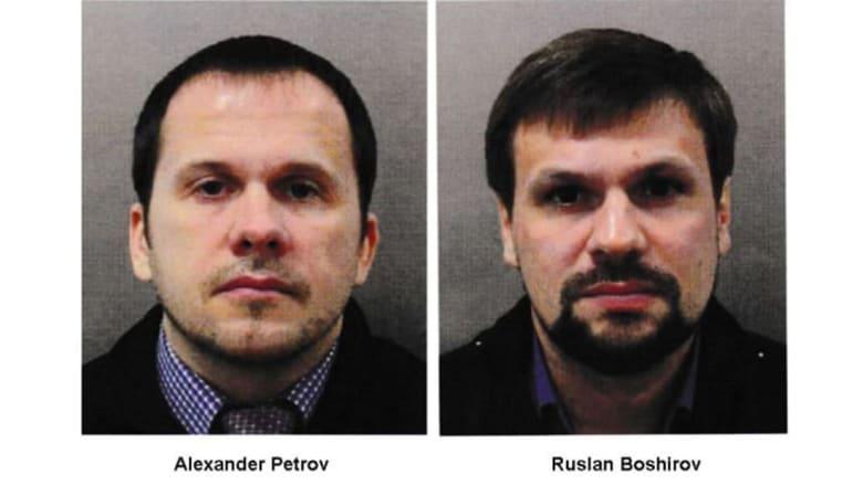 """بريطانيا: لدينا أدلة كافية لتوجيه اتهامات لروسيين اثنين بقضية """"سكريبال"""""""