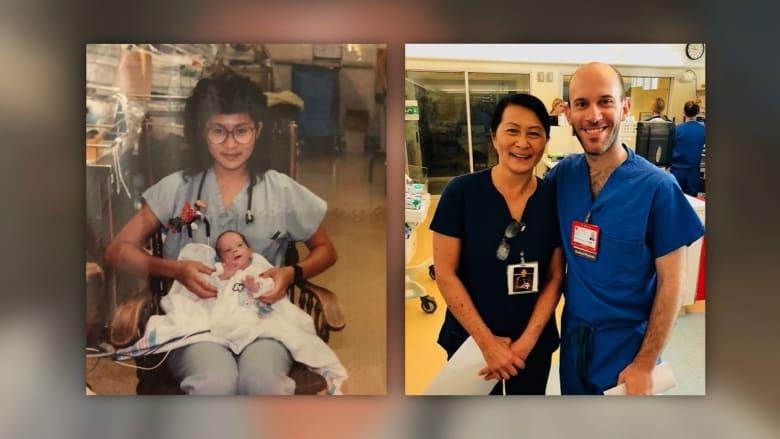 ممرضة تكتشف أن زميلها كان رضيعا أنقذت حياته قبل 28 عاما