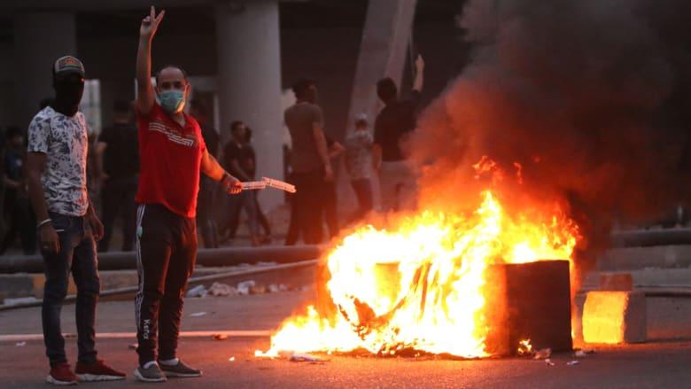 مظاهرات عنيفة تهز البصرة.. بشائر سيئة للعراق وما بعده