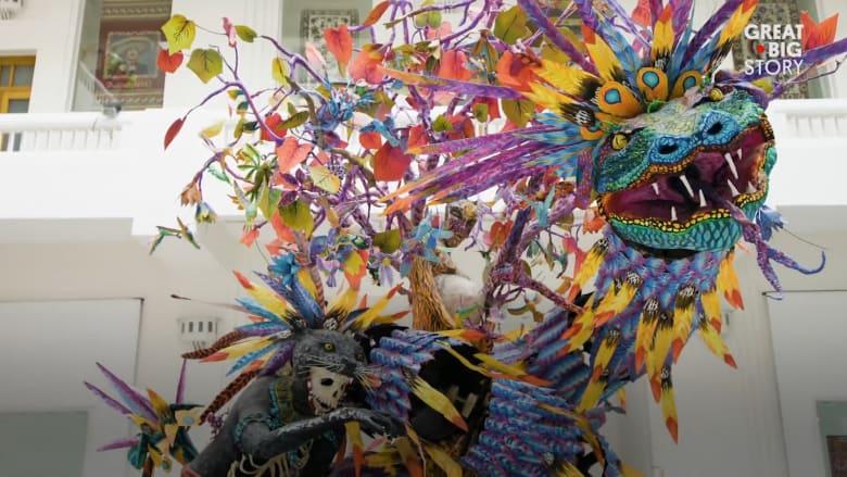 وحوش المكسيك الجميلة.. ما قصة هذا الفن الشعبي؟