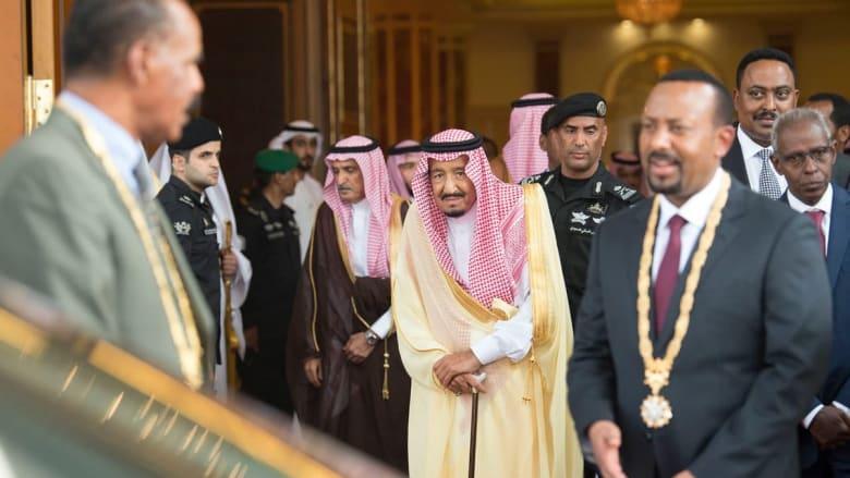 """برعاية الملك سلمان.. إثيوبيا وإريتريا توقعان """"اتفاقية جدة للسلام"""""""