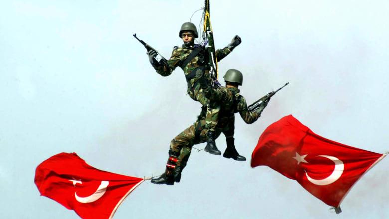 فيديوغرافيك..تركيا تتراجع عالمياً وتتصدر قوى المنطقة عسكرياً