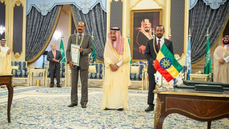 ماذا قالت مصر والإمارات عن اتفاقية جدة للسلام بين إثيوبيا وإريتريا؟