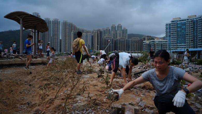 ما حجم الدمار الذي خلفه إعصار مانكوت في الصين والفلبين؟