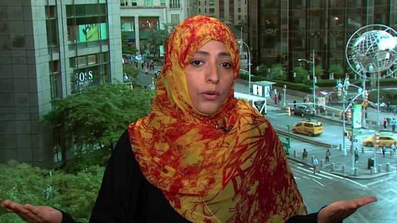 يمنية حائزة على جائزة نوبل تطالب باستقالة زعيمة ميانمار