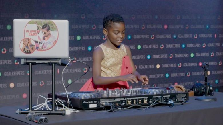 دي جي تبهر العالم بأعمالها الموسيقية ولم تتخط الـ10 من عمرها