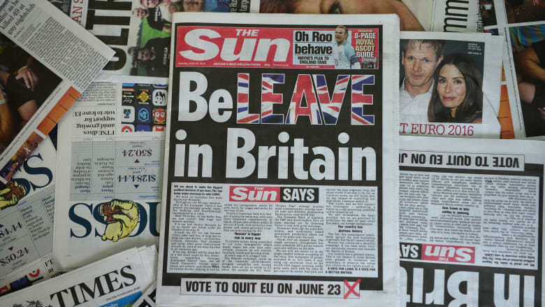 """ما هو الـ""""بريكزيت""""؟ وكيف يؤثر على اقتصاد بريطانيا؟"""