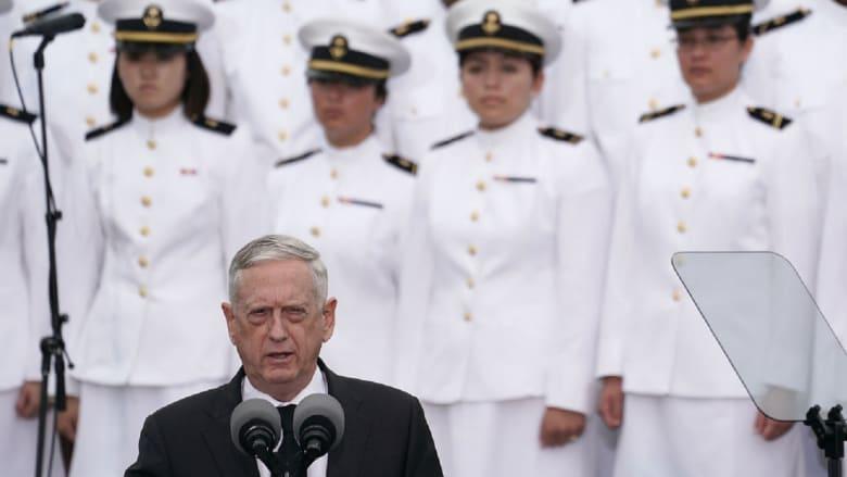 مسؤول أمريكي لـCNN: ماتيس لن يزور الصين هذا الشهر